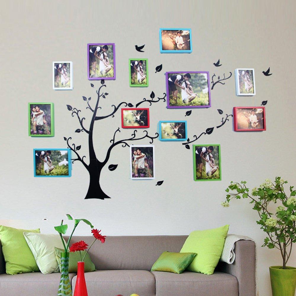 彩云边 欧式客厅 卧室照片墙 儿童相片墙 家居小墙面创意相框组合