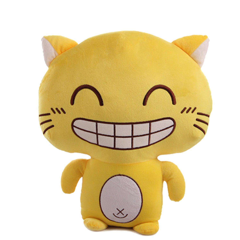 奥维斯囧囧老虎毛绒玩具公仔大眼猫咪50cm