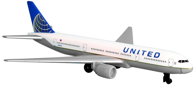 美国联合航空公司 777 飞机玩具飞机,rt6266