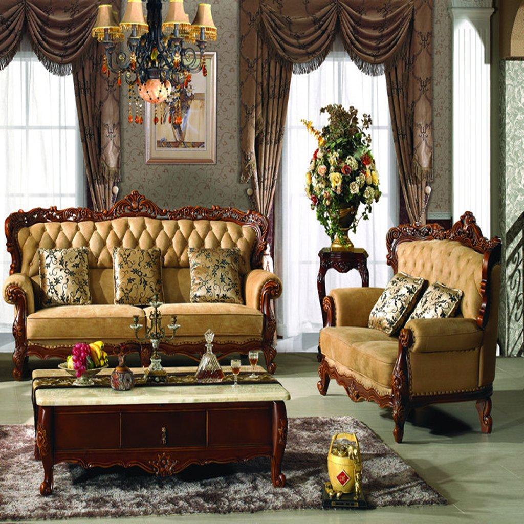 欧式沙发 组合 简约欧式真皮沙发 法式沙发 美式沙发jxc-1051 (白色)