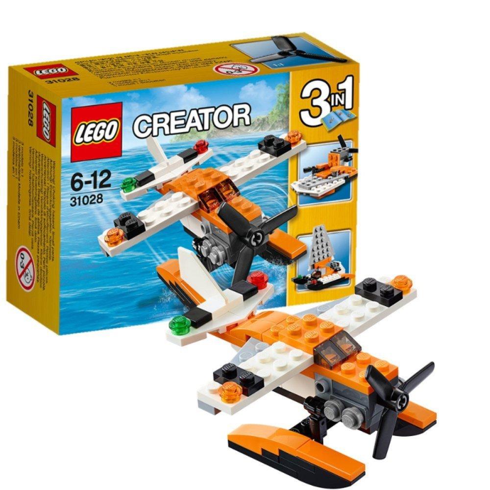 乐高legao儿童玩具积木拼插类水上飞机l31028