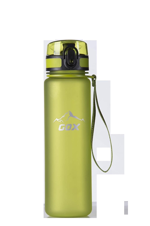 环保塑料水杯 单手开水杯 时尚磨砂水杯 (绿色)