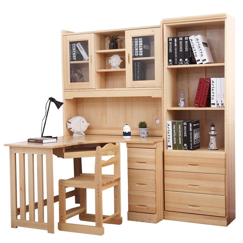 电脑桌转角书桌书架柜子台式组价格质量 哪个牌子比较