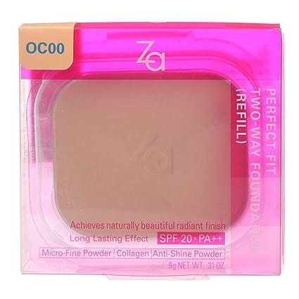 Za 姬芮 凝致亲颜 两用粉饼(粉芯)OC00 SPF20PA++ 9g 90元(可买2免1 低至45元)