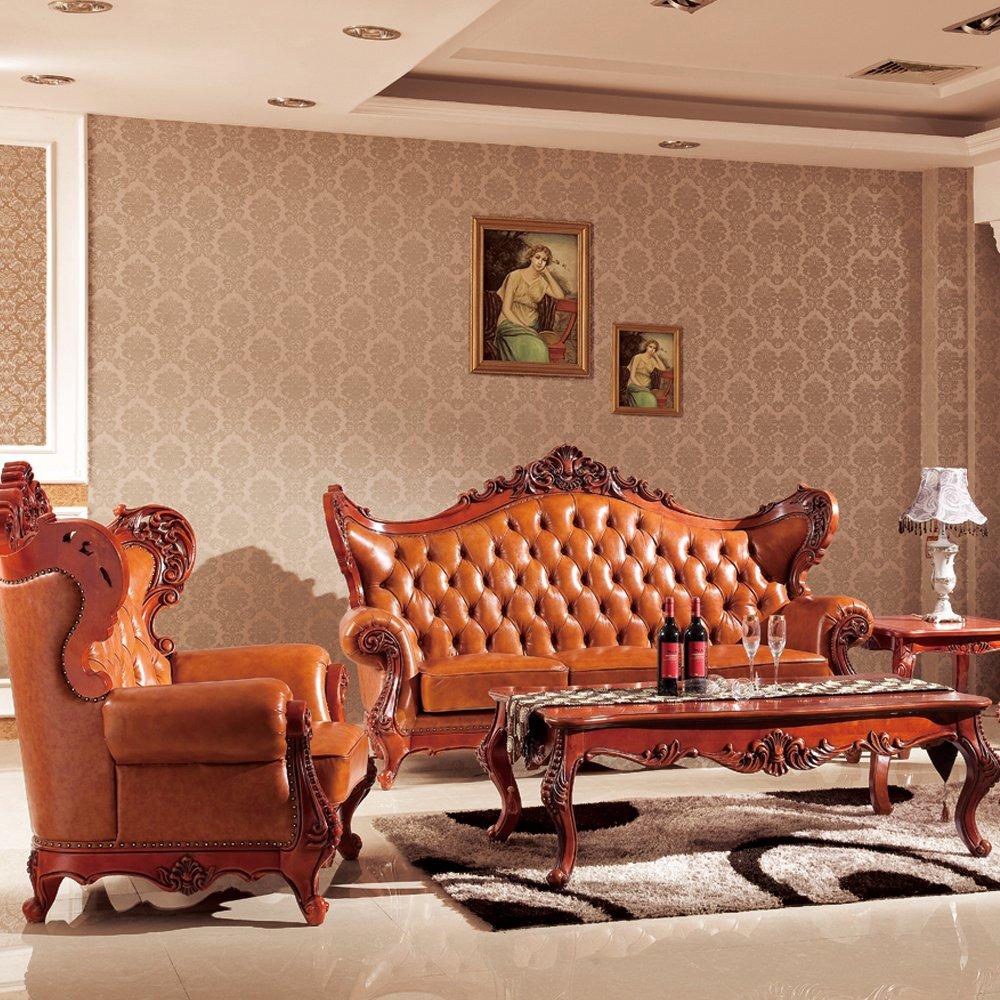 jiawen 嘉文 实木家具 橡木客厅家具 法式欧美风 8005