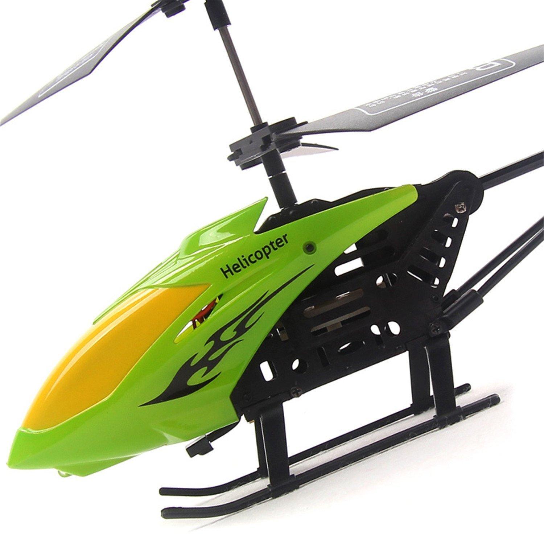 遥控飞机直升机儿童航模玩具(24cm2通道自动前进