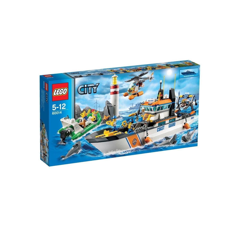警匪海上大战:LEGO乐高 Coast Guard Patrol 60014海岸警卫队巡逻¥639-150=¥489