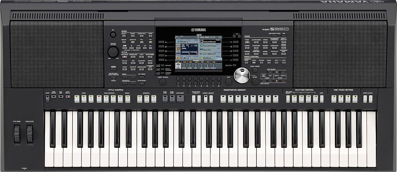 yamaha雅马哈 psr-s950 61键编曲键盘 电子琴 黑色图片