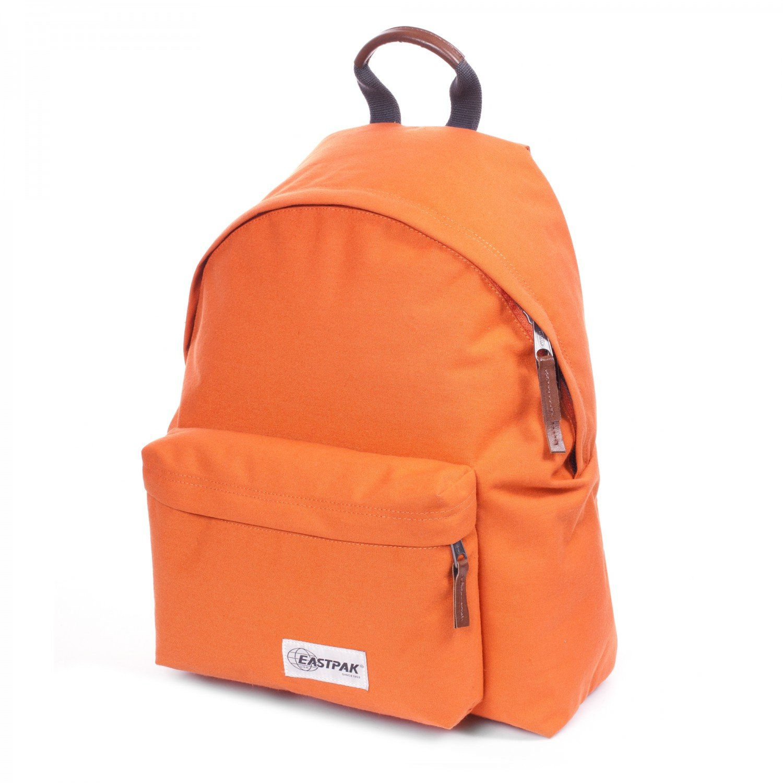 eastpak 高端复古电脑户外双肩包学生书包 橙色 ek62070h图片