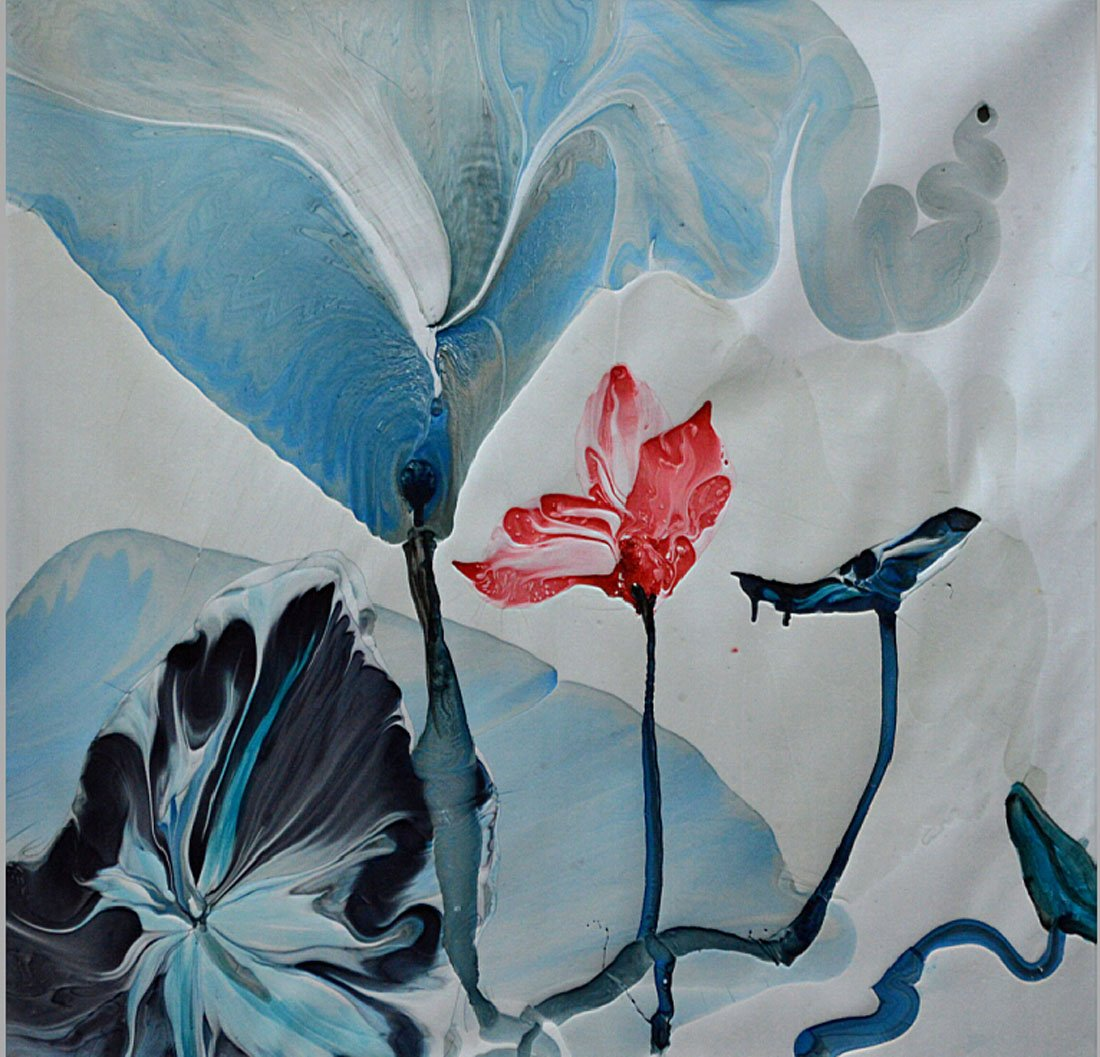 鸿廷艺术 纯手绘油画 客厅卧室装饰画 抽象画 家装壁画 现代简约装饰