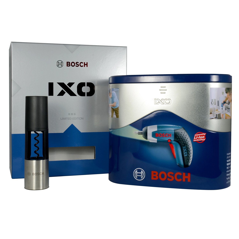 BOSCH 博世 IXO3 3.6V 电起子 铁盒电动工具促销套装 ¥279-30 送红酒开瓶器
