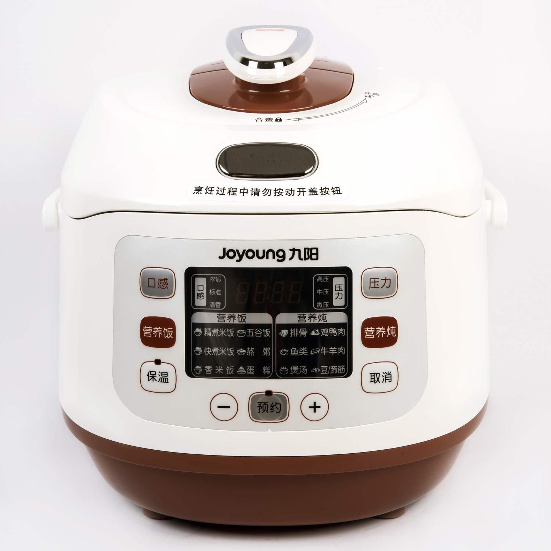 九阳JYY-50FS81电压力煲(24小时预约 智能调压 沸腾厚釜 受热更均匀)¥279