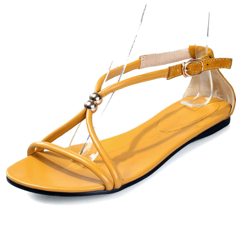 2014新款女鞋平跟凉鞋女低跟凉拖鞋女士真皮