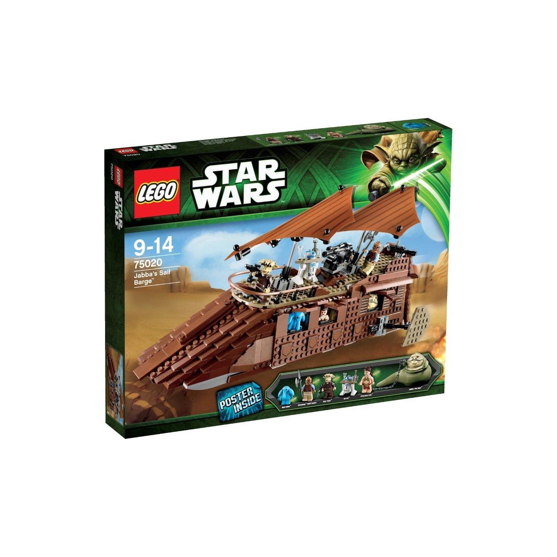 LEGO Star Wars Jabbas Sail Barge 乐高 星球大战系列 贾巴的风帆游艇 75020 $81.99,买就送Amazon2013限定小熊