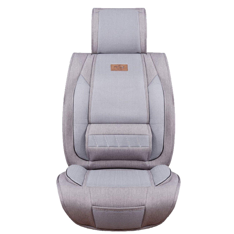 商务坐垫 3d网布 透气低敏 亚麻座垫 四季垫 5座车垫 汽车座椅保护垫