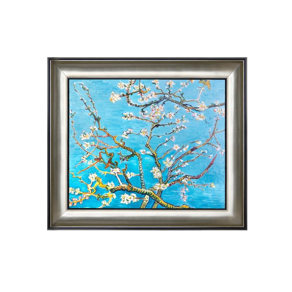 丹青在线 纯手绘油画 客厅装饰画 有框画 挂画 《杏花