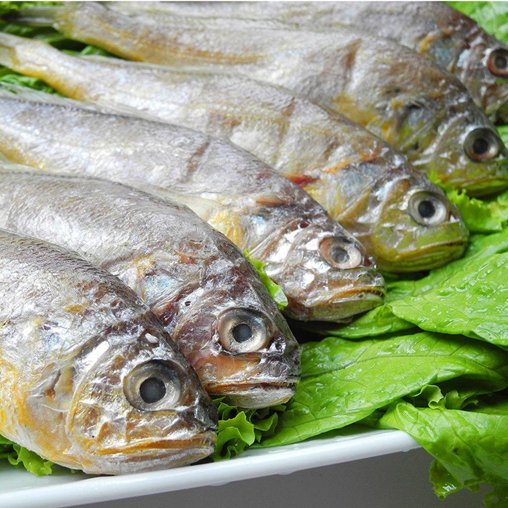獐子岛 冰鲜冷冻小黄花鱼450g*2袋
