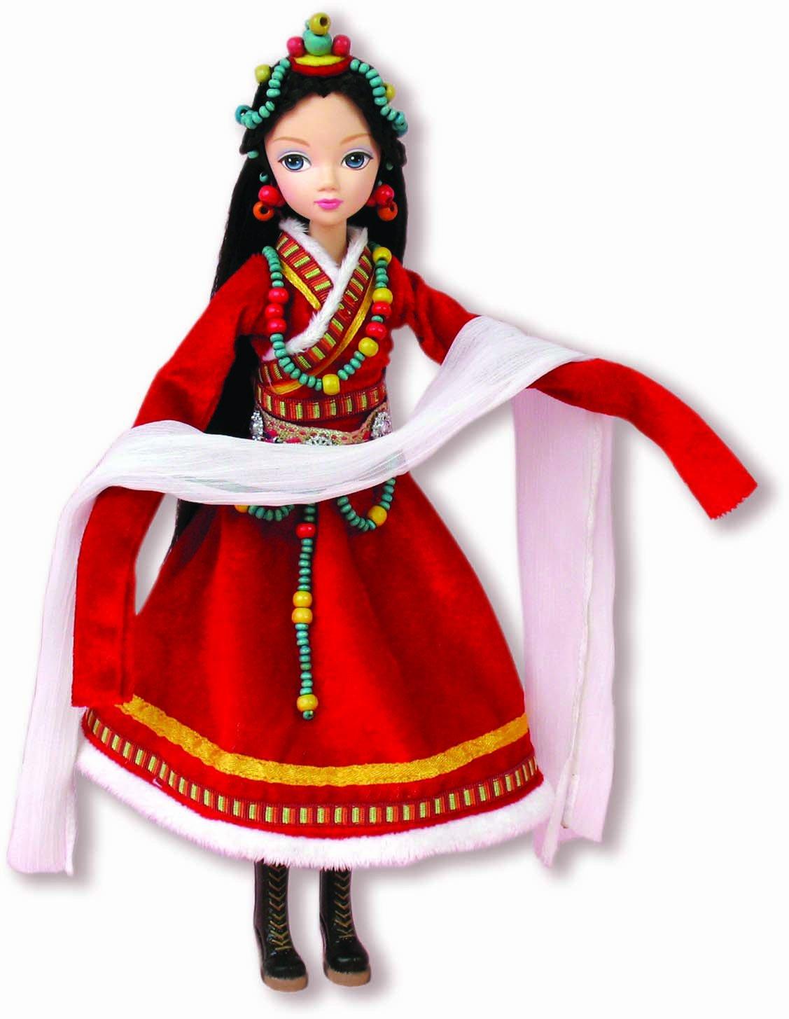 格格小公主手工制作服装