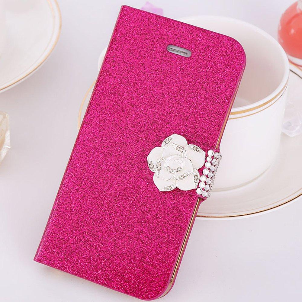 manderm曼德美山茶花iphone5s手机壳ip5水钻苹果皮套5代p果5s锁线胶钉图片书图片