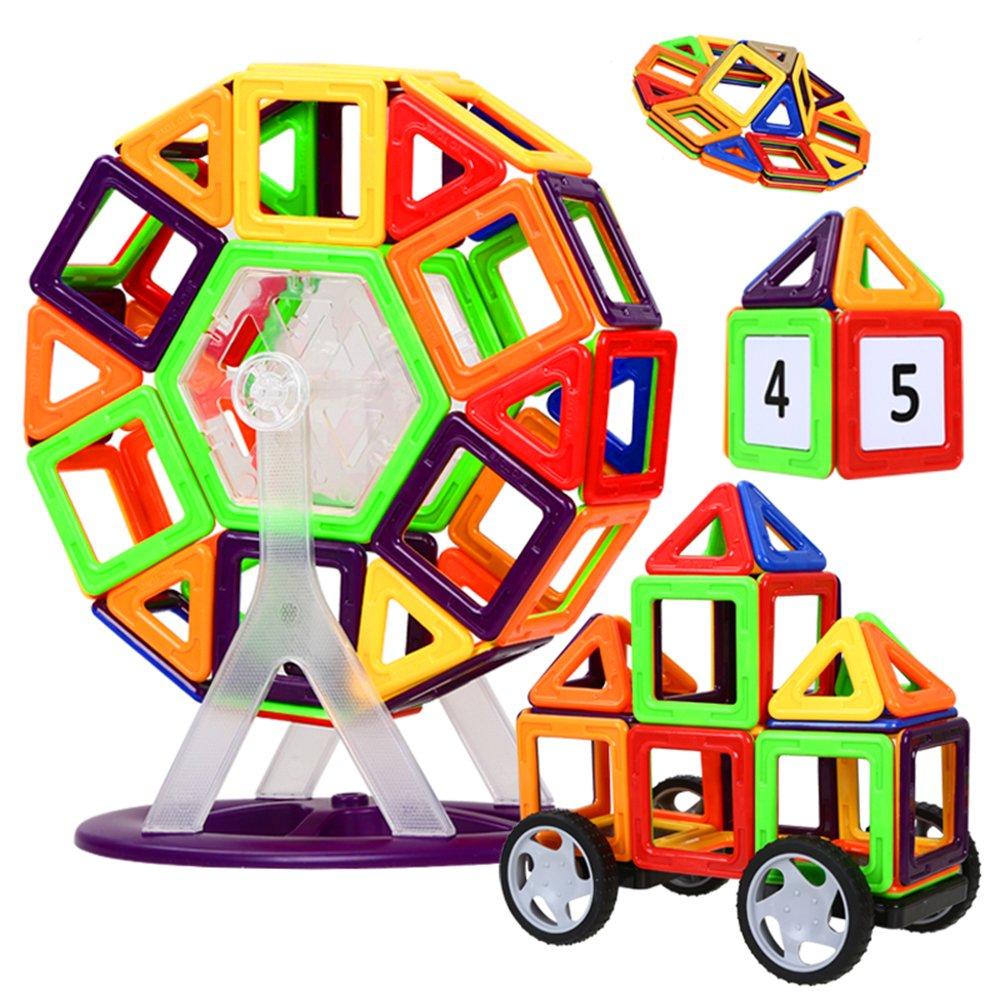 磁力片玩具 儿童益智拼插积木玩具启蒙早教