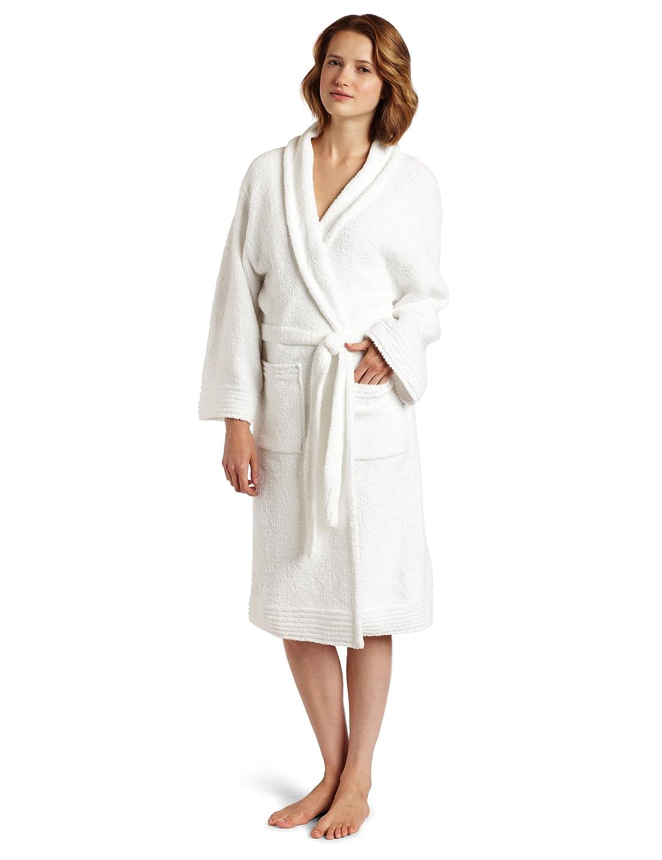 Colorado Clothing Women's Micro Chenille Robe 白色 XX-L: 运动户外休闲-海外购 美亚直邮
