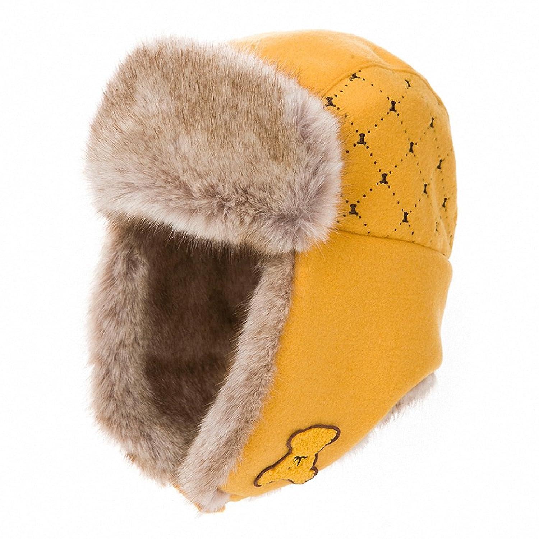 泰迪熊帽子女冬天韩版潮保暖雷锋帽羊毛时尚可爱加厚