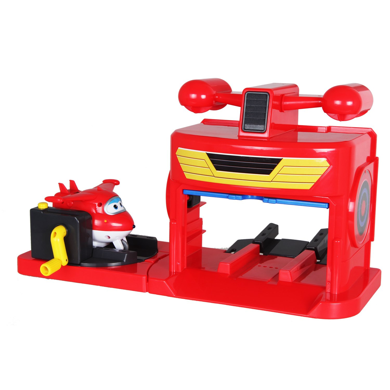 超级飞侠 儿童玩具男孩益智发射机库
