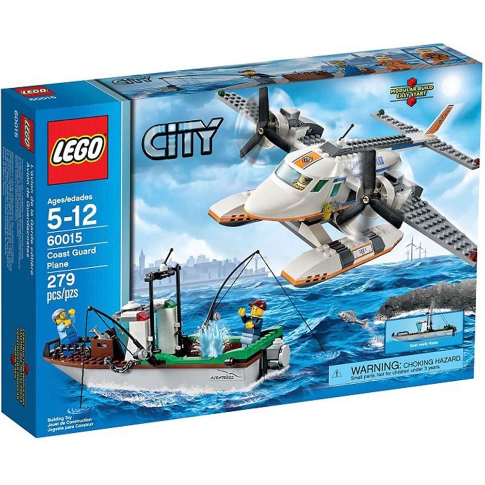 乐高lego 60015 城市系列 海岸警卫队飞机