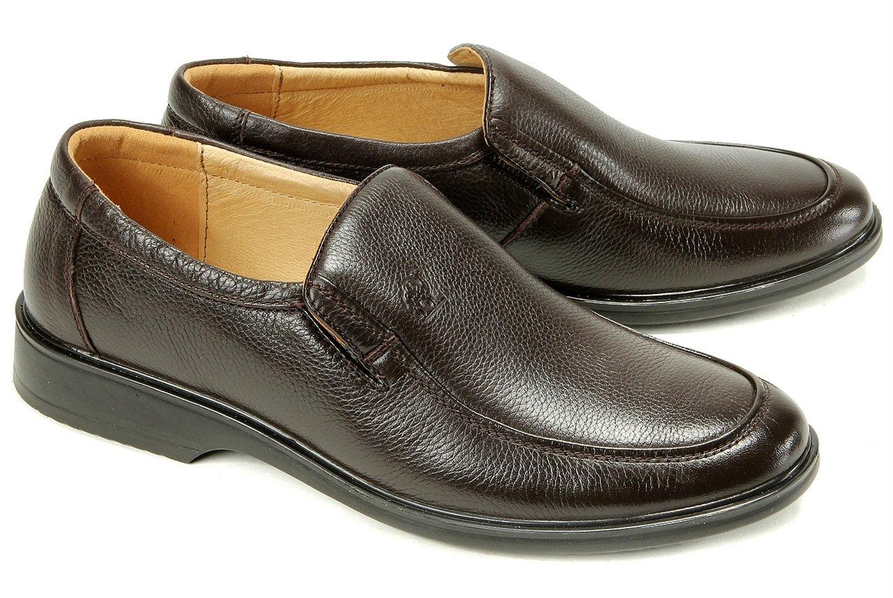 camel 骆驼 男子休闲皮鞋