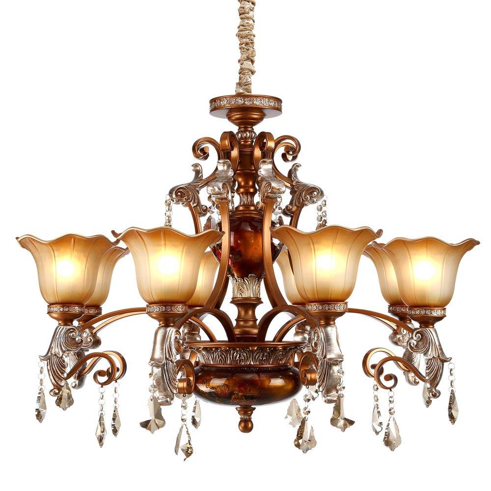 子兰 子兰欧式吊灯客厅灯饭厅灯新古典吊灯波西米亚灯