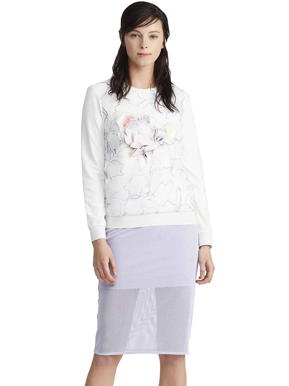 Lily 女式 两件式圆领修身长袖连衣裙 115110L7502 【Lily】 服饰箱包
