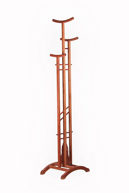 东阳木雕红木衣架仿古实木非洲花梨木衣架
