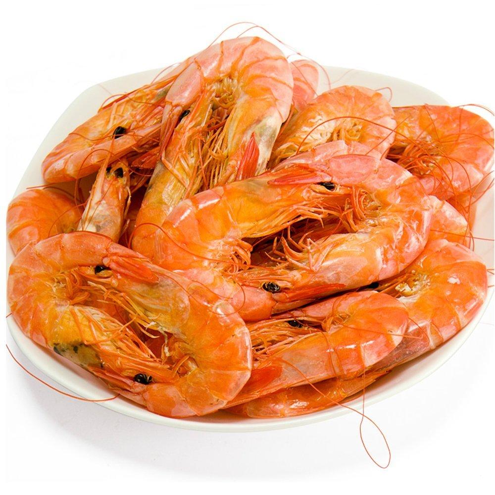 力之达 丹东特产特级烧烤大对虾干150g烤鲜活虾即食海鲜虾米干货真空