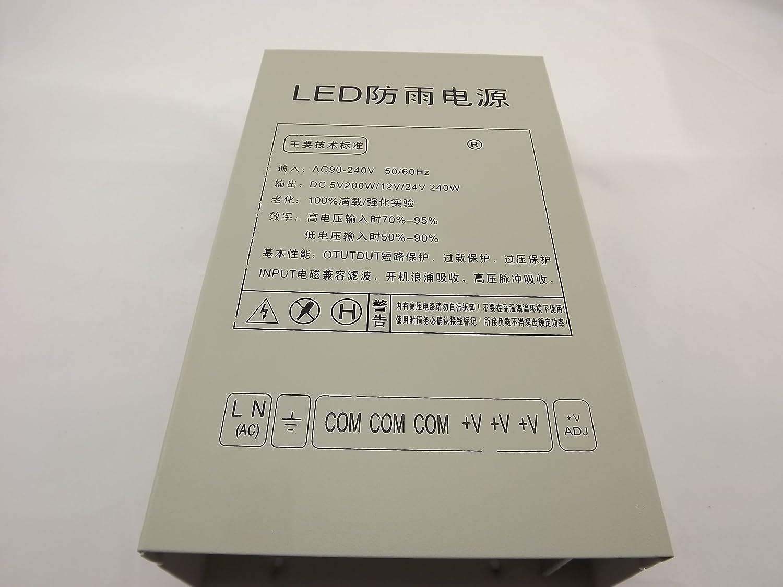 5v40a防雨开关电源高品质5v防雨变压器/220v转5v/200w