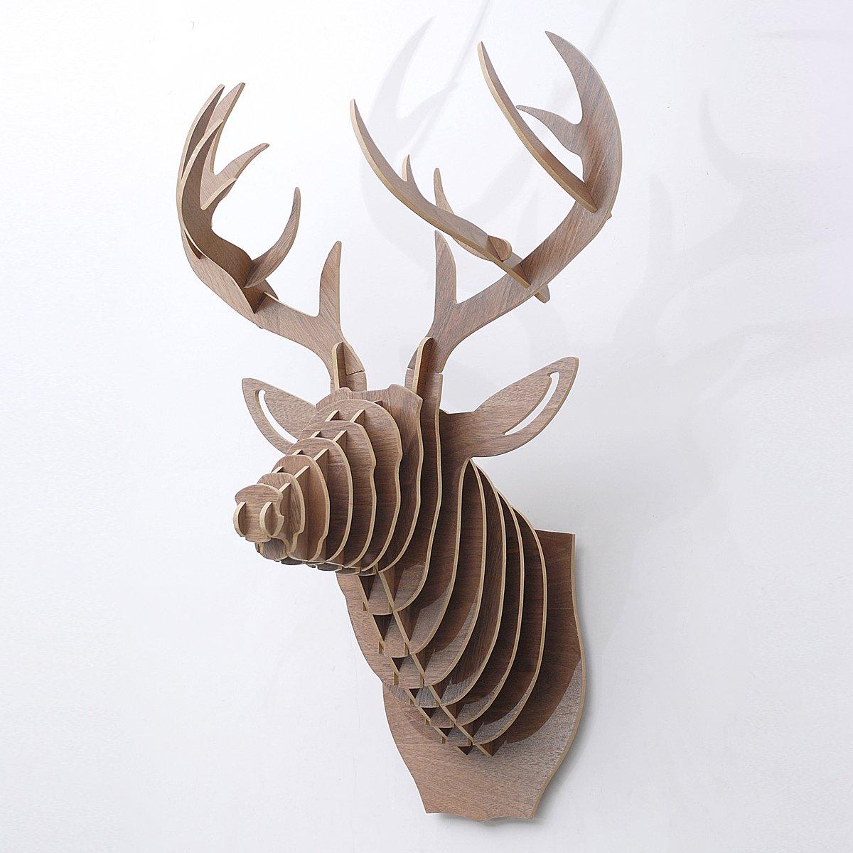 北欧手绘鹿头图片展示