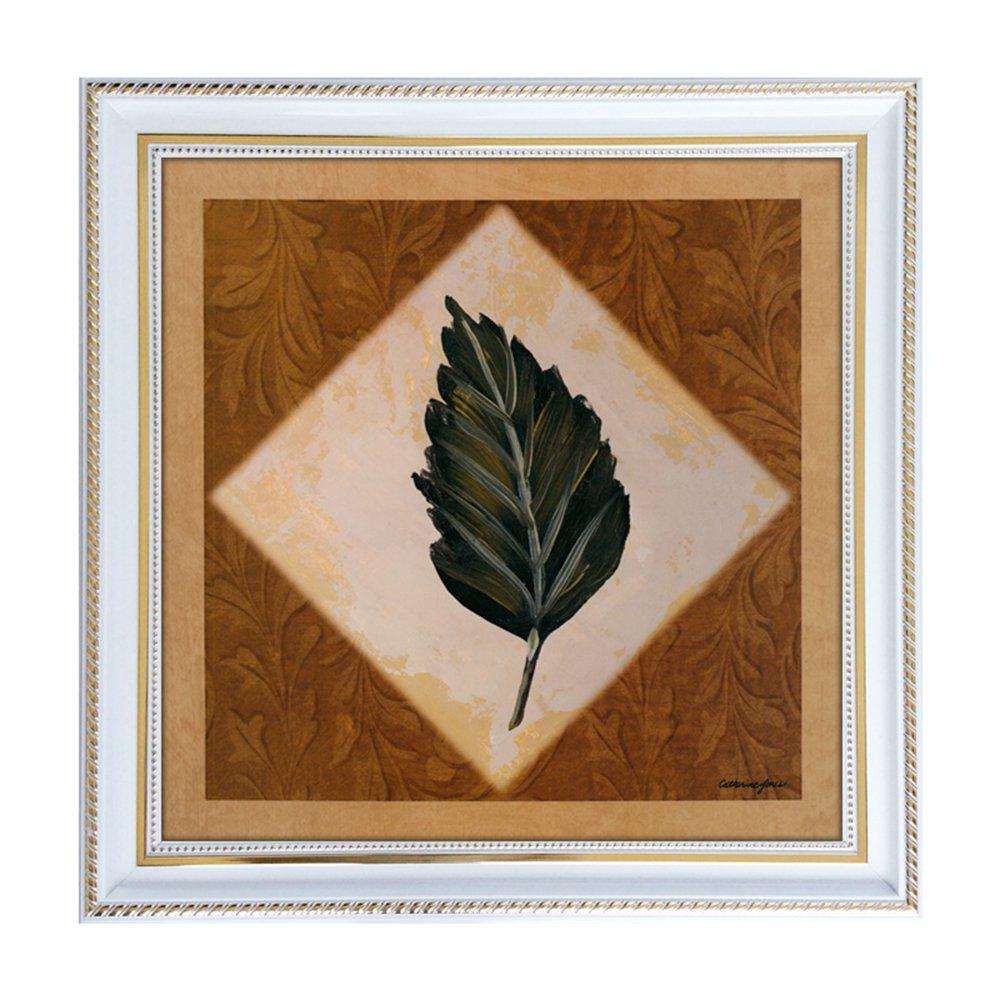 室全室美 现代家居简约复古欧式经典框有框抽象装饰画