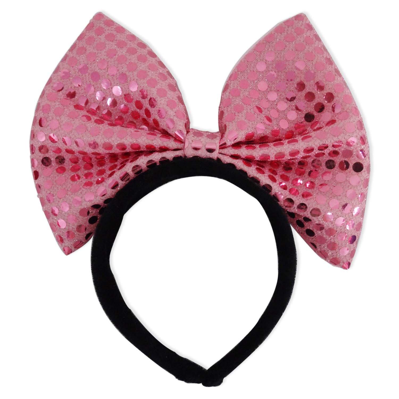 焕成可爱大蝴蝶结发箍 粉色p-1512