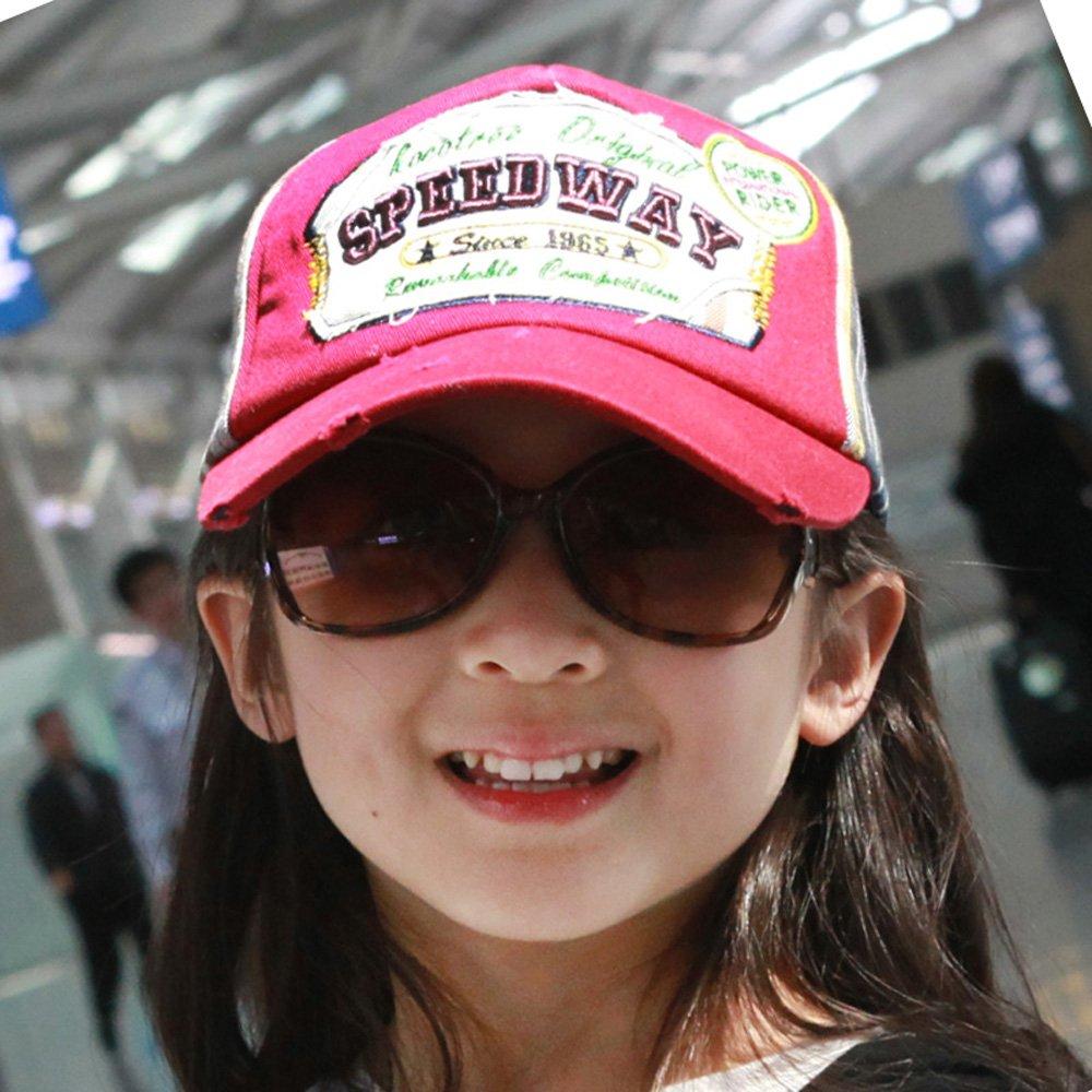 赛车道儿童网格太阳帽13065