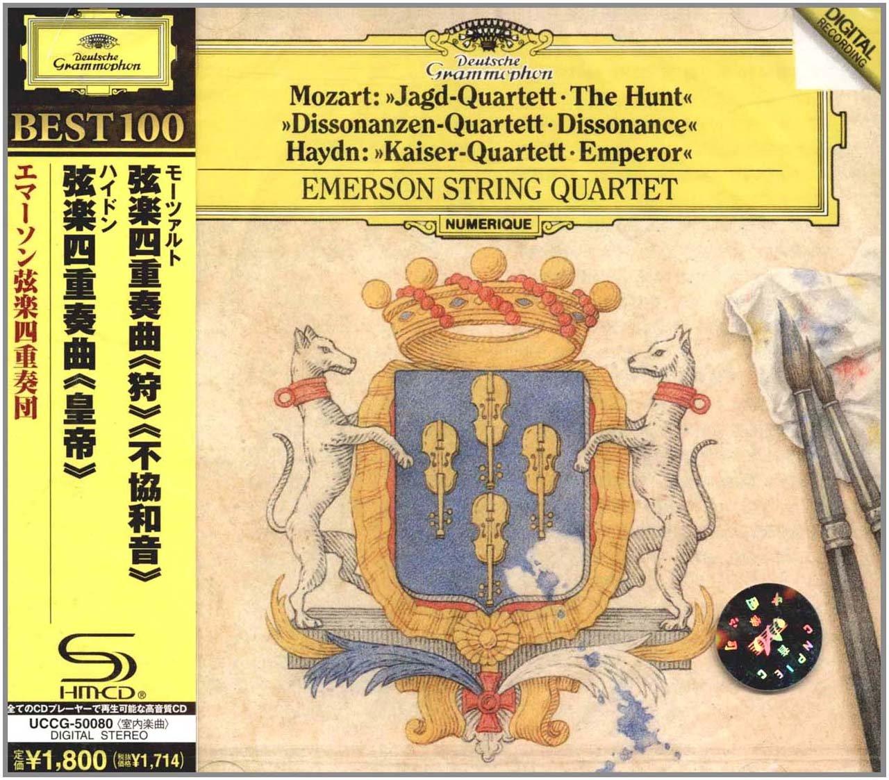 进口cd:莫扎特弦乐四重奏(cd)uccg50080