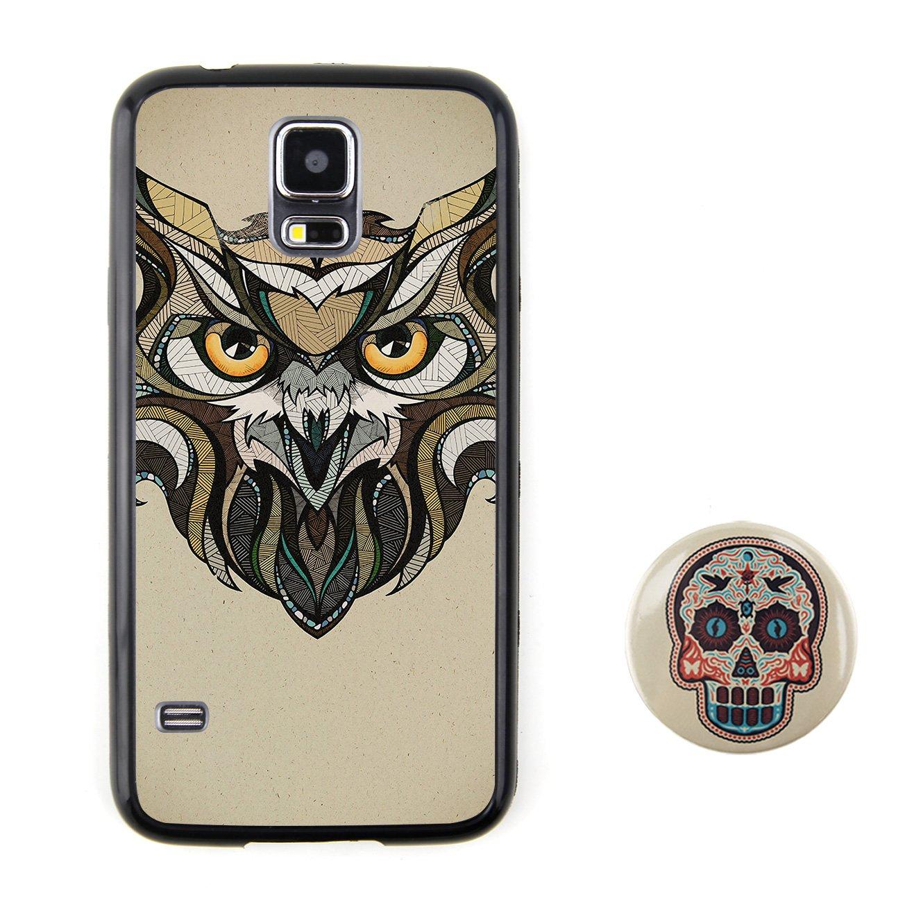 猫头鹰 动物头像浮雕设计风格 塑料+tpu手机壳 手机套