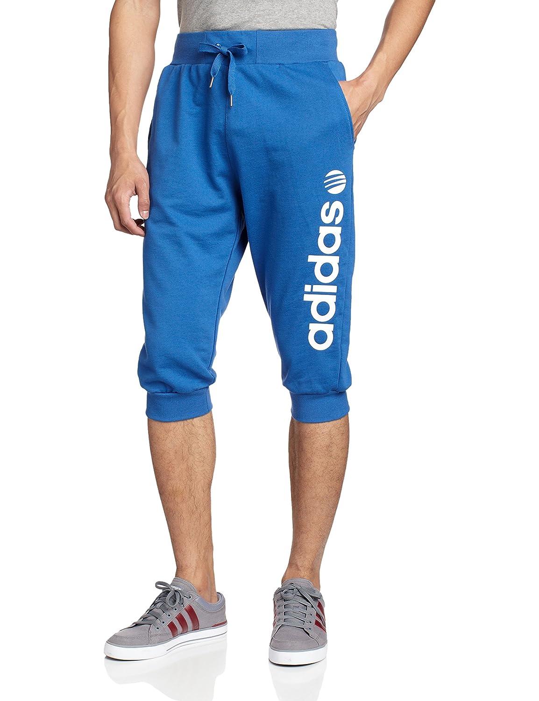 adidas neo 阿迪达斯运动生活 男式 base 舒适针织七分裤 s2514
