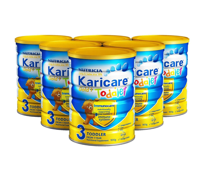 Karicare可瑞康3段金装幼儿配方奶粉900g*6桶 ¥902.5