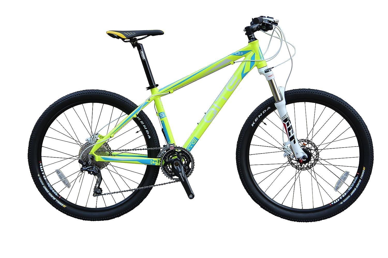 澳洲 骑特山地自行车 q系列 q5 30速山地自行车 (荧光