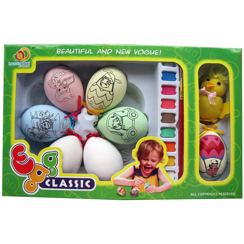 彩蛋彩绘 手绘彩蛋diy手工制作