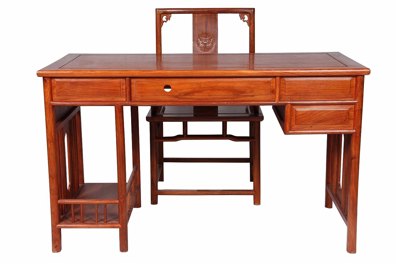 红木家具 台式电脑桌 电脑桌台式桌家用 实木仿古家具