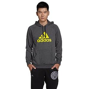 adidas 阿迪达斯 男式 卫衣 G71162 深麻灰 199元(可2件6折 低至119.4元/件)