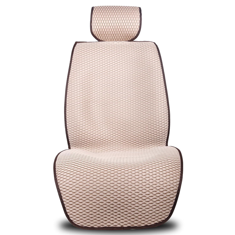 simb 狮博 3d汽车坐垫四季通用舒适透气蚕丝孔坐靠垫汽车用品sm-zd