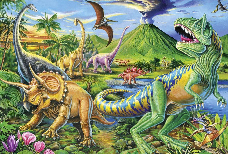 恐龙简笔画大全带颜色