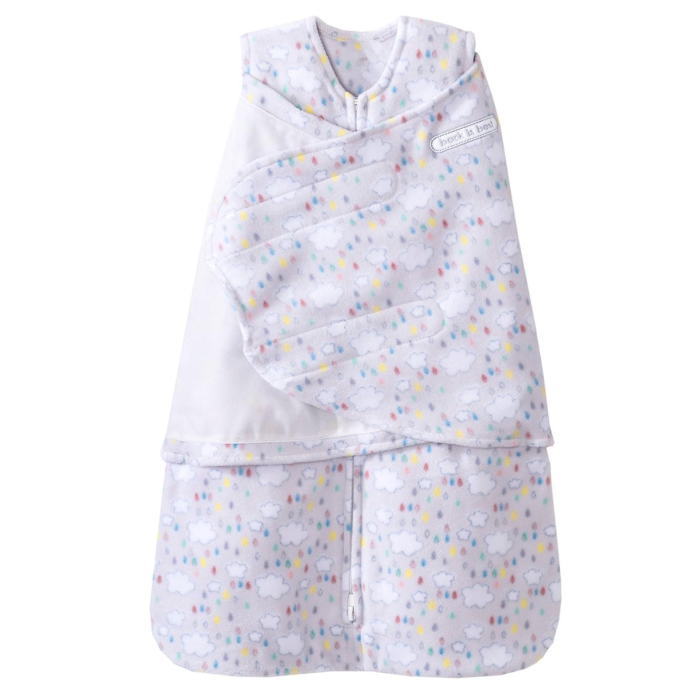 美国HALO 双层纱棉印花包裹式睡袋 蓝色鳄鱼 S(3-6个月)