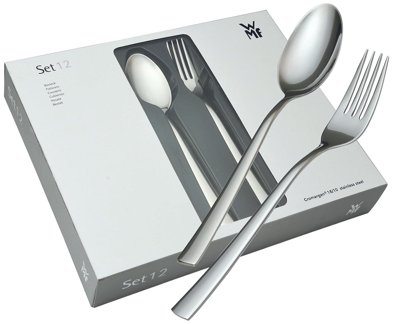 德国wmf 福腾宝 philadelphia系列 不锈钢餐具12件套